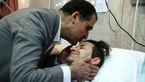 عیادت مجدد وزیر بهداشت از پزشک منطقه محروم که تصادف کرده بود
