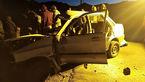 تصادف پرایدها جان 2 نفر را گرفت / در تفت رخ داد + عکس