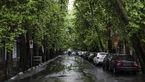 پنج شنبه بارانی در کرمانشاه