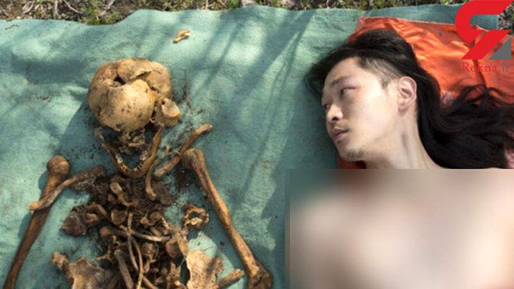 نبش قبر پدربزرگ برای گرفتن عکس سلفی / نوه چینی جنجال به پا کرد+ تصاویر