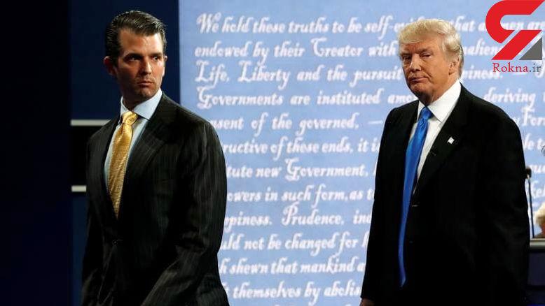 واکنش ترامپ به دیدار پسرش با وکیل روس