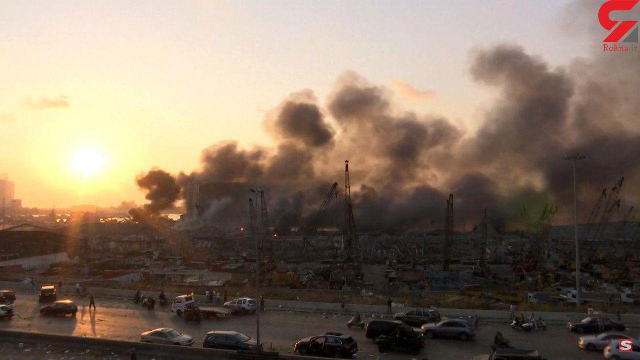 فاجعه انسانی در انفجار بیروت / 2500 کشته و زخمی +عکس و فیلم