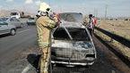پژو مرد تهرانی در آتش سوزی جزغاله شد + عکس ها