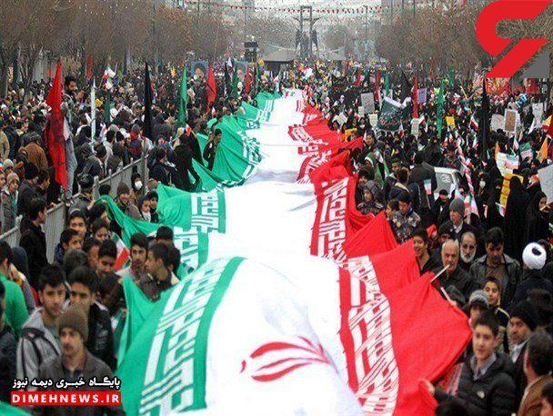 ملت ایران قوی تر از هر زمان در حال حرکت به سمت قله های سعادت است