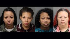 تصویر 4 زن شرور که در حین کار خلاف دستگیر شدند+ عکس