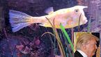 شباهت عجیب یک ماهی به ترامپ