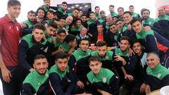 جشن تولد کرانچار در اردوی تیم ملی امید+عکس