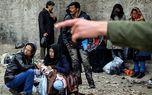 پاتک پلیس به 150 معتاد متجاهر در گردنه تنباکوئی