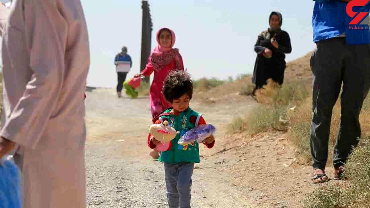 خدمت رسانی کاروان سلامت هلال احمر مازندران به هموطنان نیازمند در استان سیستان و بلوچستان