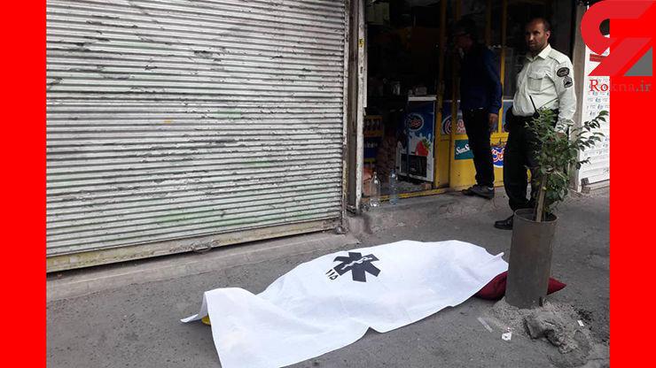 دستگیری یک زن به خاطر کتک زدن مرگبار مرد مغازه دار تهرانی + فیلم و عکس از گزارش محلی