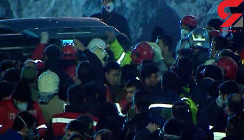 آخرین پیکر شهید آتش نشان  پیدا شد / آتش نشانی تهران 16 شهید در پلاسکو داد+فیلم
