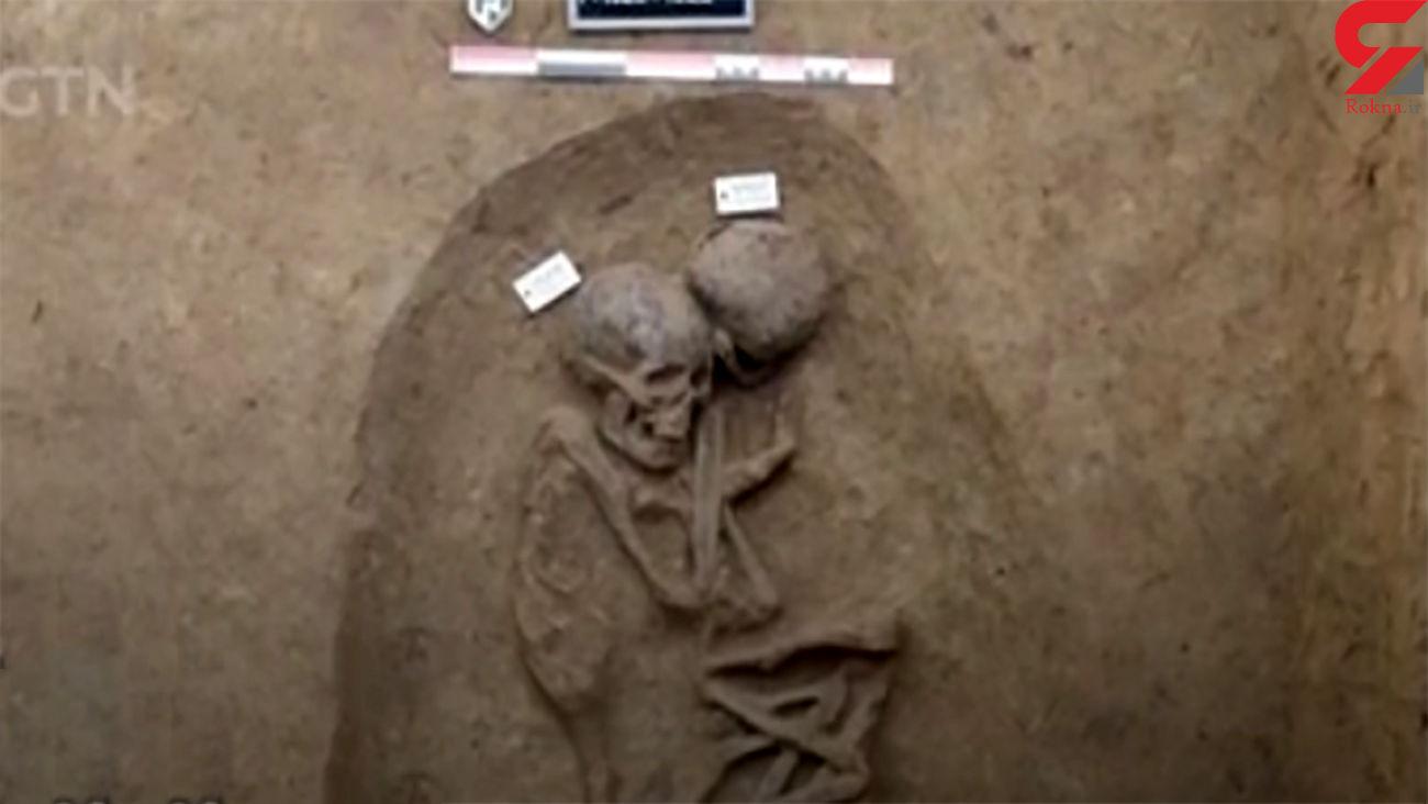 کشف آثار باستانی پیش از دوران فراعنه + فیلم