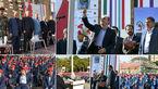شهردار تهران برای نواختن زنگ آغاز سال جدید تحصیلی به دبیرستان البرز رفت