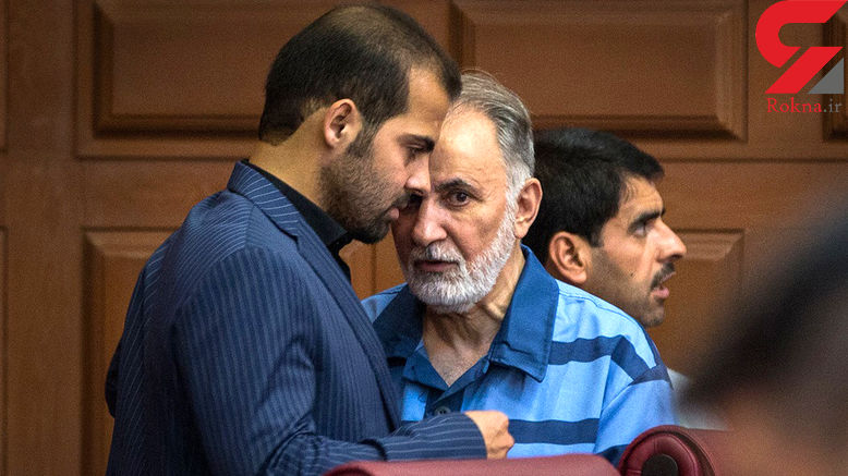 عکس / ملاقات عجیب نجفی و برادر میترا استاد در دادگاه / درگوشی چه گفتند؟