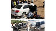 حادثه ای مرگبار برای همراهان نماینده اهواز + عکس