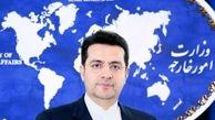 موسوی خطاب به پمپئو: مشکوک بودن حوادث برای نفتکش ها شوخی نیست بلکه هشدارآمیز است