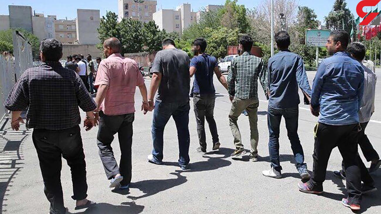 دستگیری 13 سارق حرفه ای در زابل