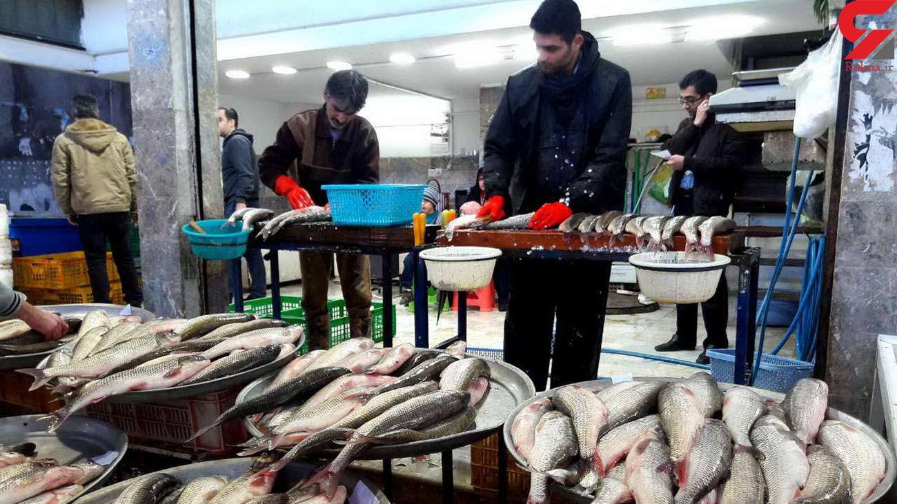 قیمت ماهی در بازار امروز شنبه 25 مرداد 99 + جدول