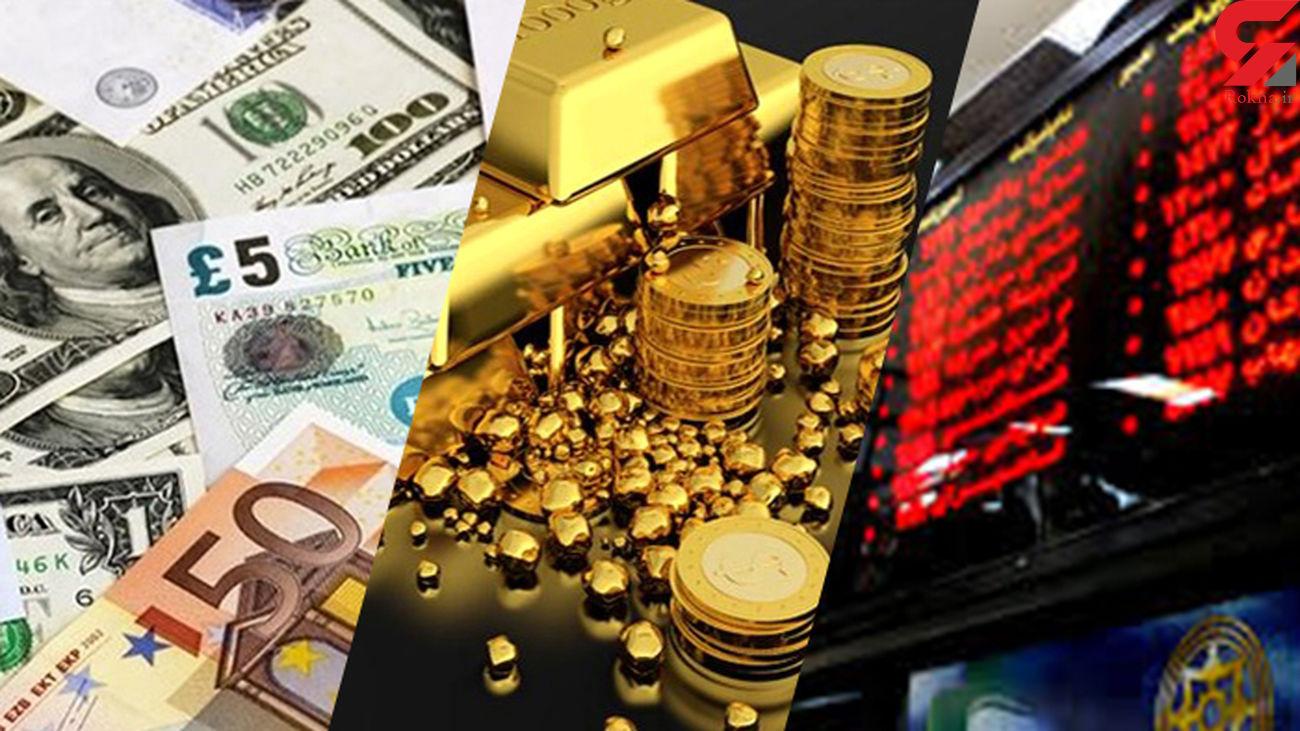 سود کدام بازار بیشتر است ؟ بورس ، سکه یا دلار ؟