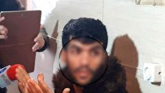 شرور مخوف تهرانی را در خیابان ها گرداندند / اهالی میدان خراسان از این مرد  وحشت داشتند! +فیلم و عکس