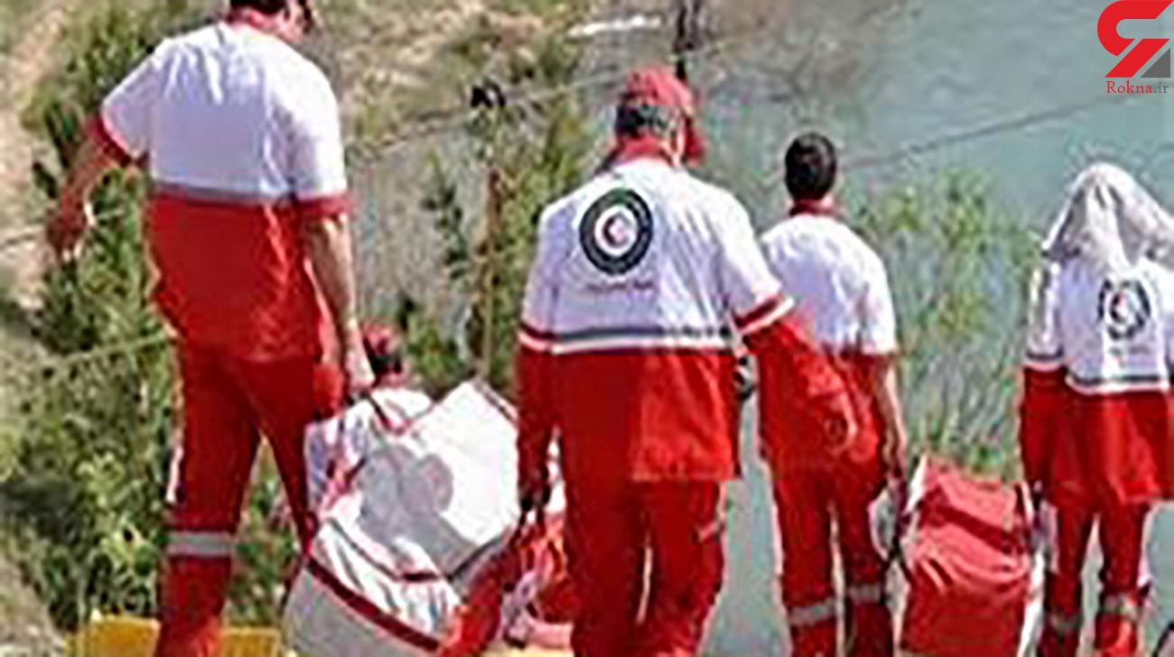 سقوط مرگبار  از ارتفاع در آبشار لوه گلستان