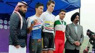 مدال برنز جمشیدیان در دوچرخه سواری جاده قهرمانی آسیا