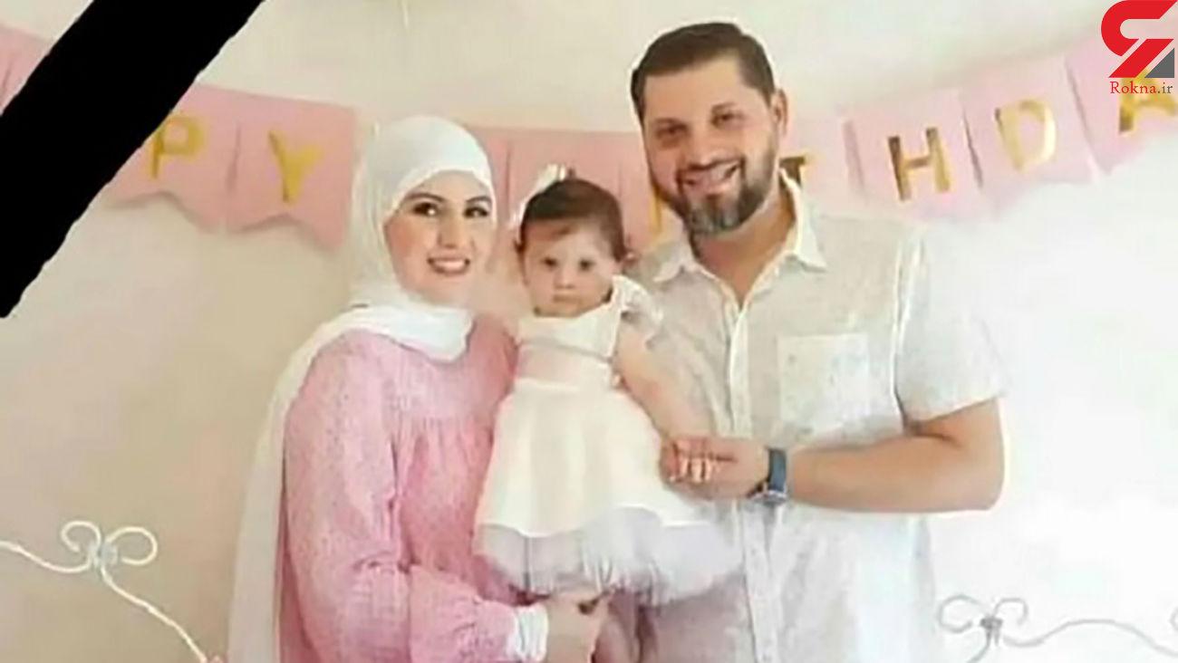 داستان دردناک یتیم شدن یک دختر 2 ساله / مادر تا آخرین نفس دخترش را نجات داد + عکس