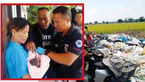 رها شدن نوزاد دختر در سطل زباله + عکس