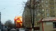 انفجار هولناک یک ایستگاه گرمایشی در روسیه + فیلم