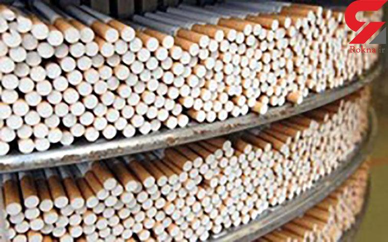 کشف بیش از یک میلیون سیگار قاچاق در بندر لنگه