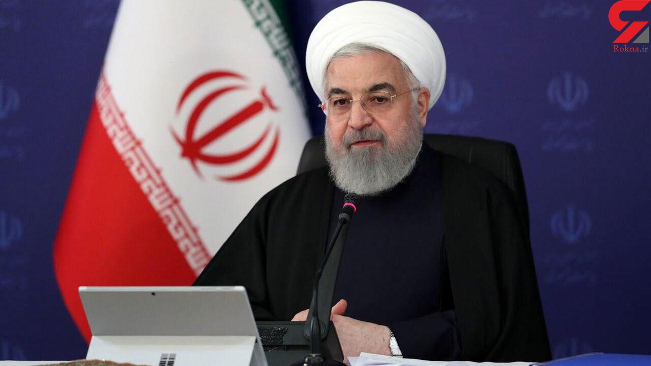 روحانی : کشور ما در شرایط کرونا مشکل تامین مایحتاج نداشت / اروپا و آمریکا به مشکل خوردند