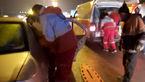 تصادف مرگبار زنجیره ای در آزادراه قزوین به کرج