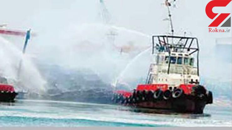 خاکستر شدن 120 خودروی لاکچری در حادثه ای مشکوک در خلیج فارس + عکس