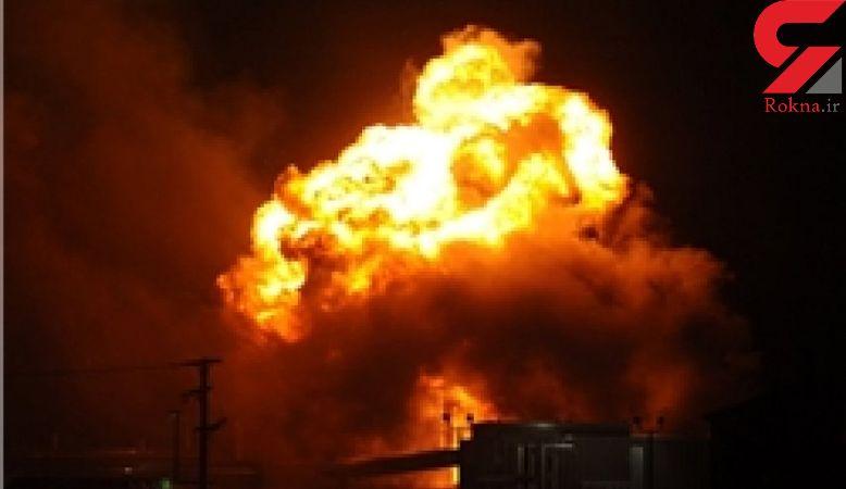 فیلم لحظه انفجار مهیب در تگزاس + فیلم