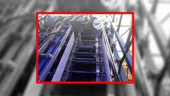 سرقت پله برقی پل عابر در بومهن! + عکس