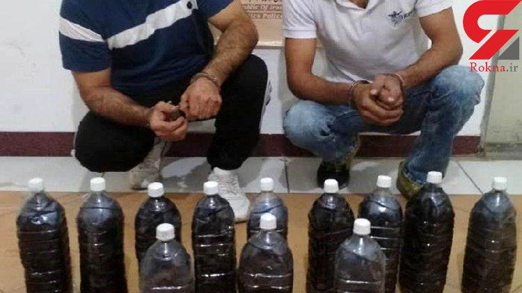 دستگیری قاچاقچی مواد مخدر با 6 کیلوگرم تریاک