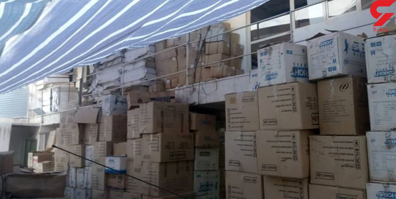 کشف 20  میلیارد کالای قاچاق در شیراز