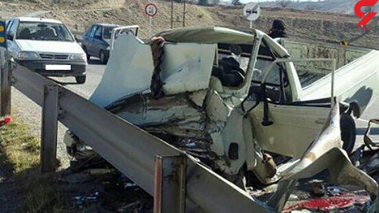 7 مصدوم در تصادف جاده داراب به بندرعباس