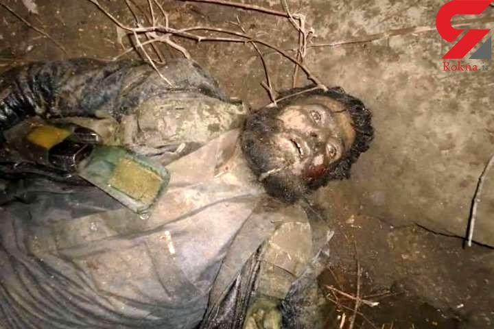 یک تروریست در خاک سفید به هلاکت رسید + عکس جسد