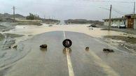 سیلاب ۵ مسیر در شمال سیستان و بلوچستان را مسدود کرد