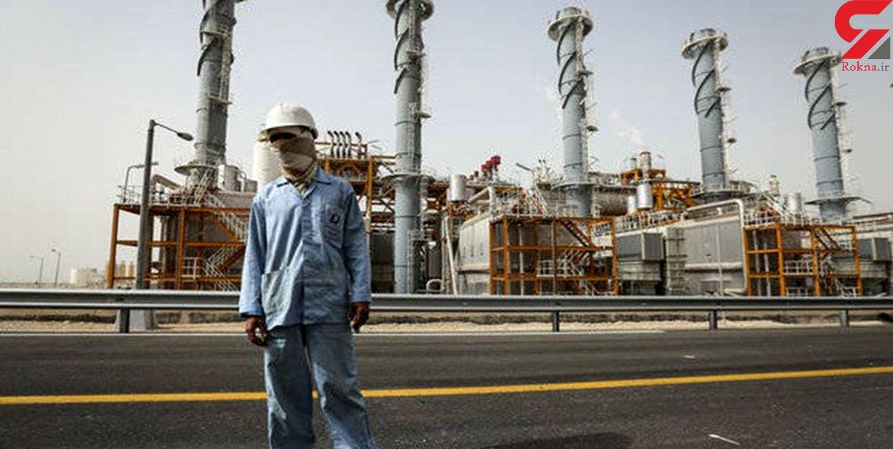 یک ماه کارگری محصور در دود و آتش/ کارگران عسلویه خواستار مرخصی عادلانه