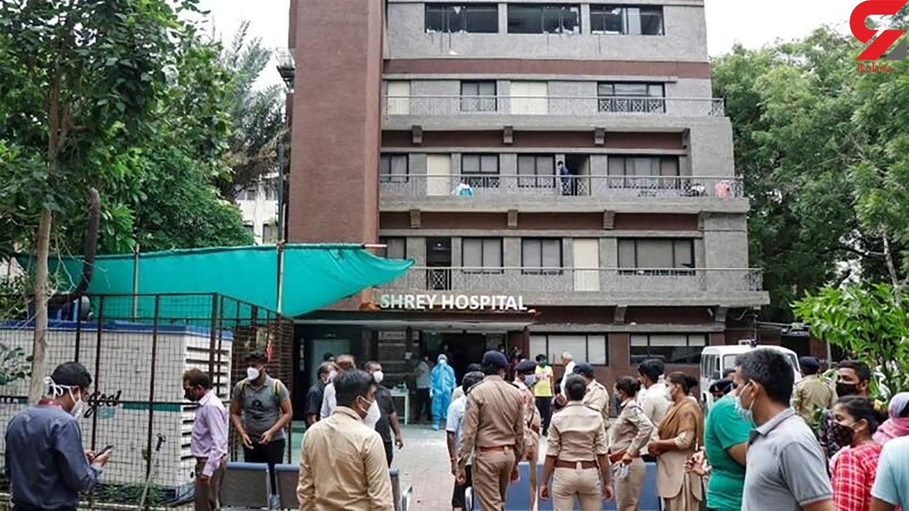 8 زن و مرد بیمار کرونایی زنده زنده در آتش سوختند /  در احمد آباد هند رخ داد