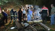 تصادف اتوبوس مهاجران در شرق ترکیه