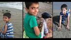 سرنوشت مرموز پارسا کوچولو در حاشیه رودخانه/کسی می داند صاحب عکس کجاست؟/او را ربوده اند؟+عکس