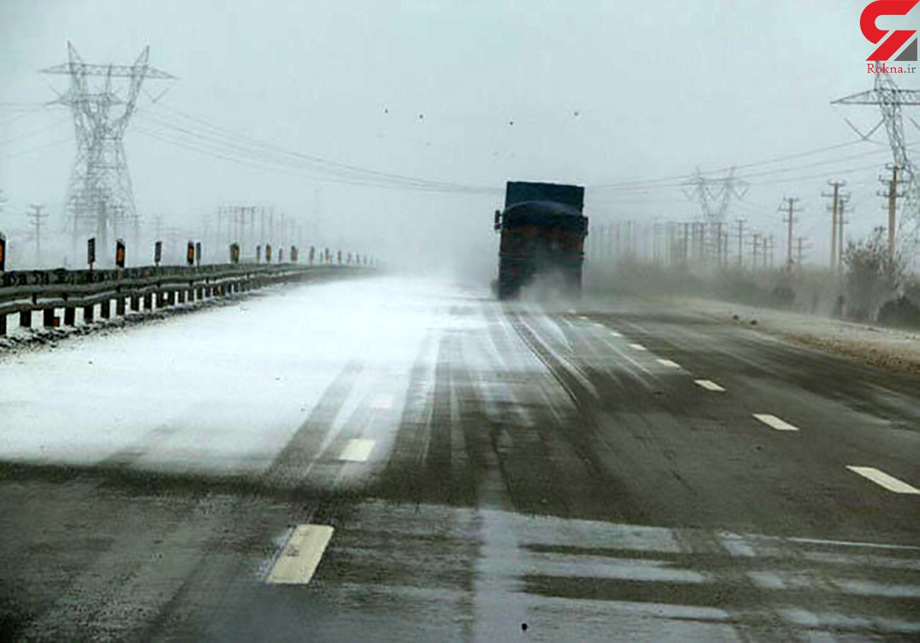اسامی جاده های برفی کشور