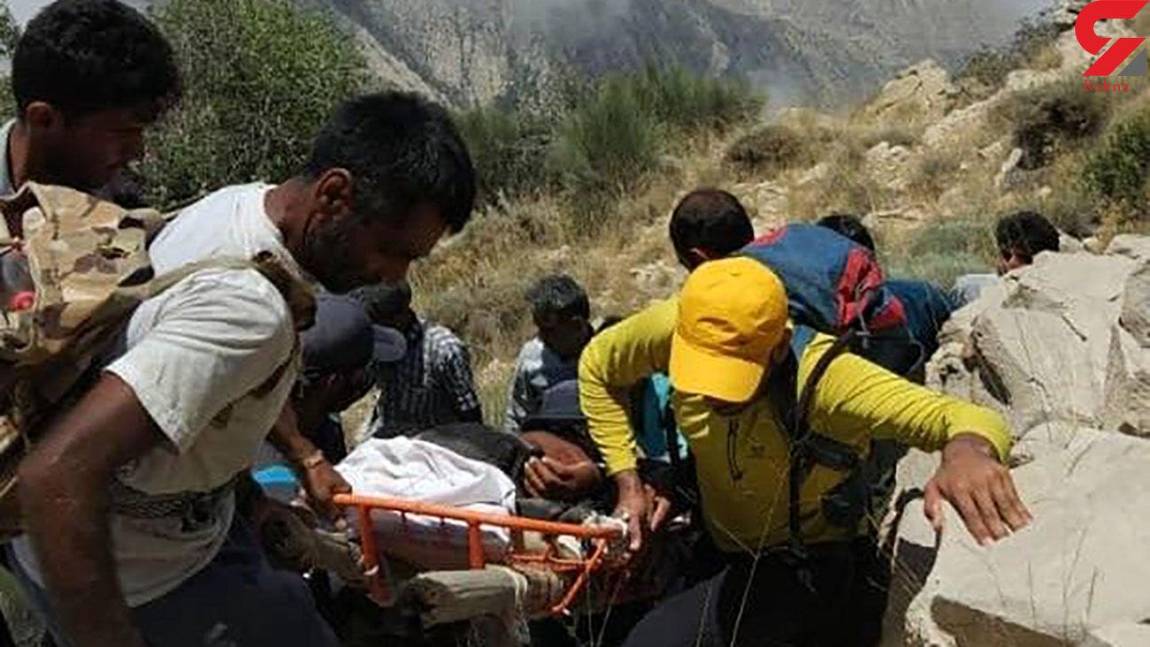 نجات کوهنوردان گرفتار در ارتفاعات