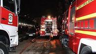 آتش سوزی هولناک در مسکن مهر رشت / 25 زن و مرد وحشت زده  به خیابان ریختند