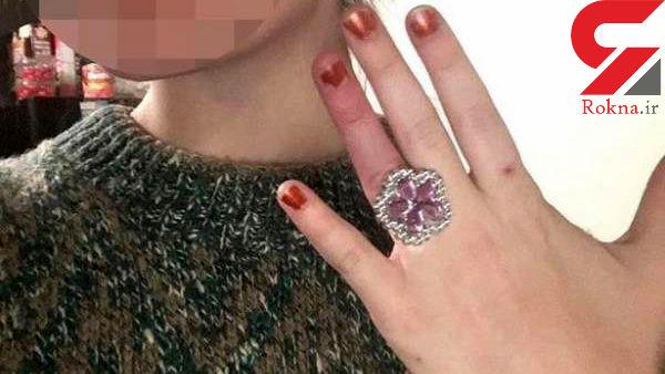 اقدام احمقانه یک زن برای خرید حلقه عروسی+ عکس