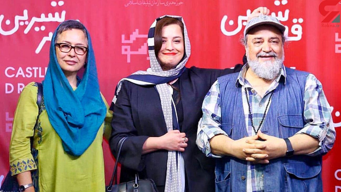 عکس شوهر دوم همسر اول محمدرضا شریفی نیا ! / آزیتا حاجیان رونمایی کرد