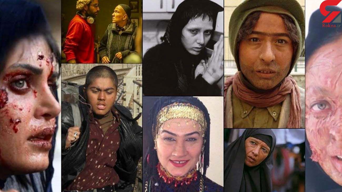 14 خانم بازیگر ایرانی که ناگهان زشت شدند / عکس نیوشا ضیغمی را حتما ببینید + عکس ها